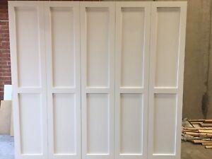 """Alpine 1.0"" 3pc Wardrobe/Wall Unit Bedroom Furniture Hanging Robe"
