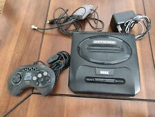 Good Condition!! Sega Genesis 2 Console + Controller Video Cable and AC Adapter