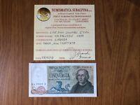 BANCONOTA LIRE 5000 COLOMBO II TIPO 3 CARAVELLE 1977 RARA SUPERBA