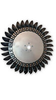 32 Spoon Pelton Wheel Turbine Kit - ALUMINUM HUB & HDPE Paddles -Stainless Bolts