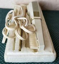 Vintage Sunbeam Heated Styling Hair Plastic Metal Comb & Brush