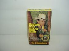 Riders of the Black Hills The 3 Mesquiteers VHS