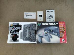 Nintendo 64 en boite complet - Polys et notice - Version FRA