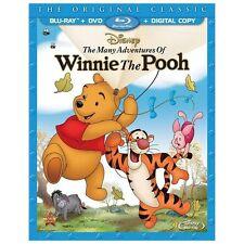 The Many Adventures of Winnie the Pooh (Blu-ray/DVD, 2013) No Digital Copy