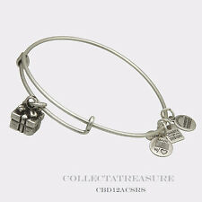 Authentic Alex and Ani Gift Box Rafaelian Silver Charm Bangle CBD