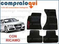 round clip Tappetini auto Audi a4 b6 8e - Antracite Ago Feltro 4tlg 2000-2004