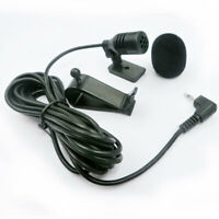 2.5mm Auto Microfono Vivavoce Bluetooth GPS DVD Audio Stereo Abilitato Mic