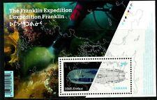 Canada 2015 EREBUS $2.50 Miniature Sheet Used (no visible postmark)