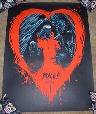 DRACULA movie poster print GODMACHINE bram stoker