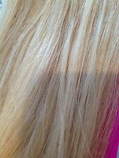 "Remmy AAAA 100% cabello humano Clip de extensión en la mezcla rubia 18"" no 24.613 Streak UK"