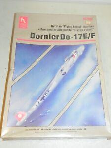 Hobby Craft HC1604 Dornier Do-17E/F Flying Pencil Airplane Model Kit NIB