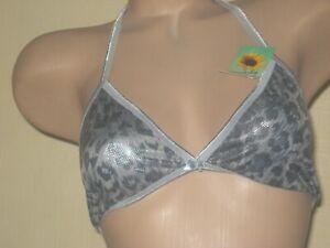 Stretchy usa bra, bikini top no padding or wires small 10, medium 12, large 14