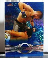 2013 UFC Topps Finest Khabib Nurmagomedov RC Refractor Variation Blue /188