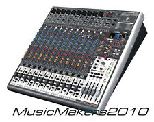 Behringer Xenyx X2442USB 24-Input Channel Mixer Effects USB Interface -FAST SHIP