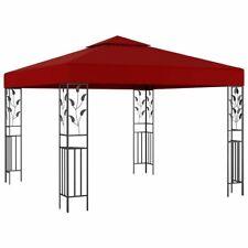 Hovig 3m x 3m Steel Patio Gazebo Wedding Party Outdoor Shade Tent Canopy