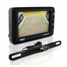 Pyle Plcm4375Wir Adjustable Rearview Backup Car Camera with 4.3 Inch Monitor