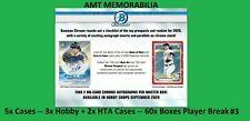 Logan O'Hoppe Phillies 2020 Bowman Chrome 5X Case Hobby + HTA 60x BOX BREAK #3