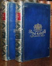 1893 Attic Orators JEBB 2 Vols Prize Binding by Relfe Royal College Mauritius