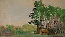 M. G. Wywiorski. ( Warschau 1861-1926) Grünes Wäldchen
