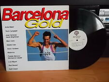 BARCELONA Gold - Madonna, Sarah Brightman, Freddie Mercury (Queen) KOREA LP