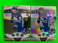 2019-20 OPC Platinum Base + Rainbow Lot #65 John Tavares Toronto Maple Leafs X2