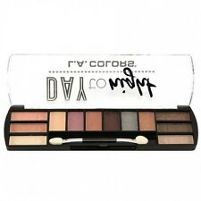 L.A. Colors Makeup Long Lasting Day to Night Eyeshadow Palette CES421 Dawn