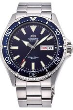 Orient RA-AA0002L19B Stainless Steel Automatic Analogue Men's Watch - Blue / Silver