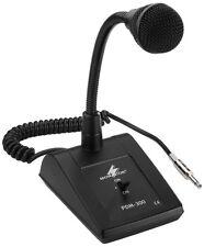 Monacor ELA-Tischmikrofon, 600 Ω mit Schwanenhals, 6,3-mm-Klinke PDM-300  !!!