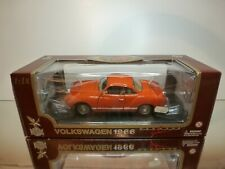 ROAD LEGENDS VW VOLKSWAGEN KARMANN GHIA 1966 - ORANGE 1:18 - EXCELLENT IN BOX