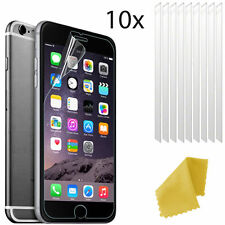 10 X Clear Plastic Screen Guard LCD Protector Film Layer For Apple iPhone 7 Plus