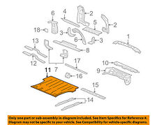 GM OEM Rear Body Floor-Rear Floor Pan 15112197