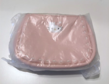 Hello Kitty Sanrio Pink Small Purse Hand Bag Decorative Stitching Strap NWT New