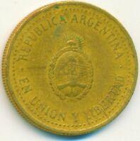 COIN / ARGENTINA / 10 CENTAVOS 1992    #WT15118