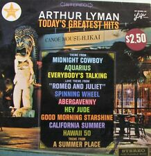 ARTHUR LYMAN Today's Greatest Hits LP