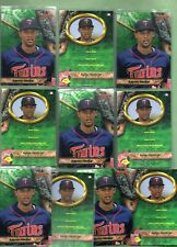 Aaron Hicks (Minnesota Twins/N Y Yankees) 10/2011 Bowman Best #BBP61 Rookies