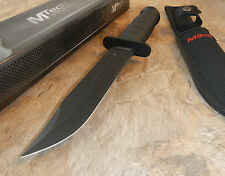"12"" Overall MTech Fixed Blade Survival Knife 440 w/ Sheath Army Bowie"
