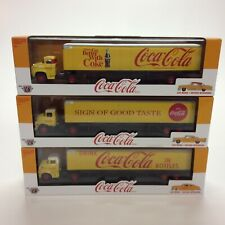 M2 Machines Coca-Cola Auto-Haulers #YR01 1:64 Scale Diecast (Complete set of 3)