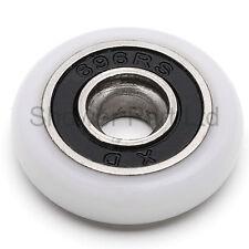 4 X Puerta de ducha rollers/runners/wheels 20 mm de diámetro k003i