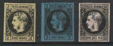 AA.357 - Romania stamps, 1867,2 ,5 ,20PAR