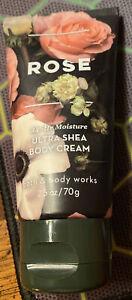 Ultra Shea ROSE BODY CREAM 2.5oz NEW Bath & Body Works ~ FREE SHIP!