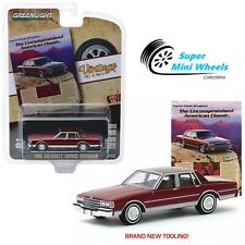 Greenlight 1:64 Vintage Ad Cars Series 2 1986 Chevrolet Caprice Brougham 39030-F