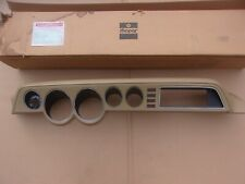 "NOS Mopar 1979-1981 Dodge B-Van Instrument Panel Dash Bezel Hood CASHMERE ""TAN"""
