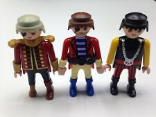Playmobil Figures Set of 3 Pirate Pirates Figures