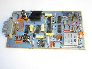 TCXO 4, 10MHz,  Referenzfrequenz ( REF Leiterplatte ) incl. Teiler RFT / FWB