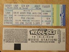 UNUSED PHIL COLLINS June 8 1990 GREAT WOODS PERF ARTS Concert  Ticket GENESIS