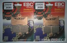 EBC Sintered FRONT Disc Brake Pads (FA347HH) fits Suzuki GSX-S750 (2017 to 2019)