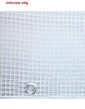Telone occhiellato retinato 3 5x2 5mt Trasp. Papillon