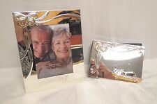 Lenox 50th Anniversary Silver Plated Frame And Photo Album Brand New See Details