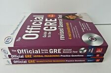 Official Guide to GRE Educational Testing Serv + 2 Practice Questn Books #0328-A