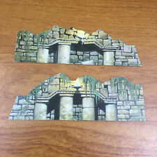 Curse of The Idol Board Game Spare Parts 2 Pieces of Scenery (1990)